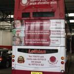 the amazing rear of the bus