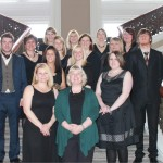 lynne with the Edinburgh Military Wives choir