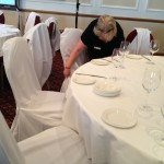 chair covers go on