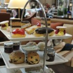 the delish afternoon tea at the Caledonian