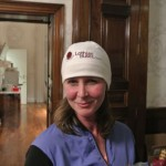 the beanies Lothian Buses donated for our Kilimanjaro team