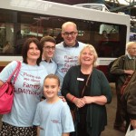 The Walker family 'on the bus'