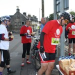 the sandwich stop at Linlithgow