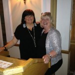 Trustees Susan and Lynne at Spring Blingo