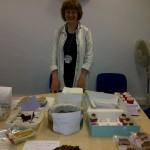 Kilimanjaro fundraising - Mary and her bake sale