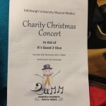 Edin Uni medical students held their annual carol concert to raise funds