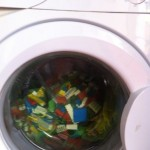 we were donated lego so one of our special volunteers washed it all ready to go to hospital