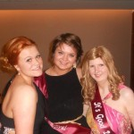 three of our young ambassadors at our first ball