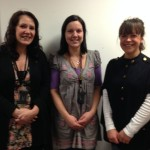 Wendy Russell Hall and colleagues at SWIP