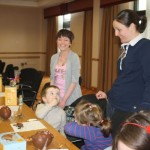 Easter workshop organised by Young Ambassador Ailsa